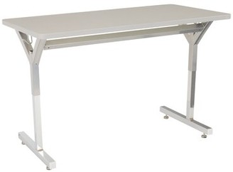 Manufactured Wood Adjustable Height Multi-Student Desk Learniture Desk Finish: Gray Spectrum