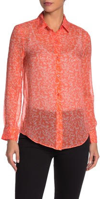 Equipment Essential Silk Blend Blouse
