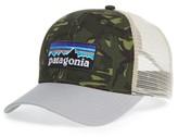 Patagonia Men's P-6 Logo Trucker Hat - Green