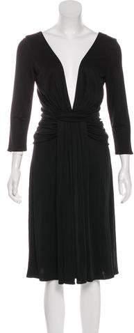 Issa Ruched Midi Dress w/ Tags