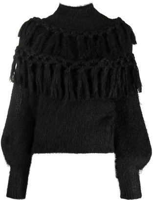 Zimmermann Tassel Balloon Sleeve Jumper