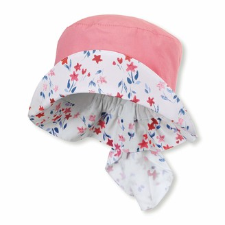 Sterntaler Girl's Fishing hat with Neck Protection