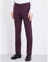Paul Smith Checked Slim-fit Wool