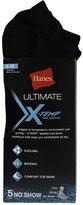 Hanes Men's Ultimate X-Temp153; No Show Socks