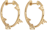 Elise Dray Topaz & yellow-gold earrings