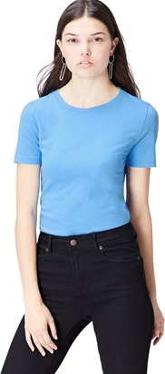 Active Wear find. Women's T-Shirt Blue (Aqua) 40 (Size Manufacturer: Medium)