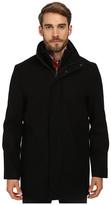 Calvin Klein Wool Blend Bibbed Walking Coat CM485679