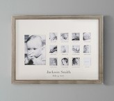 Pottery Barn Kids Champagne First Year Frame