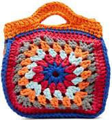 MY BEACHY SIDE Top-handle knitted tote