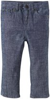 Vince Kids Chambray Pants (Toddler/Kid) - Washed Blue-4