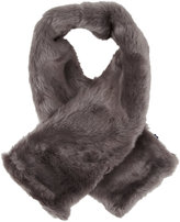 Hat Attack Faux Fur Pull-through Scarf