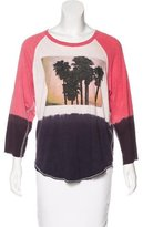 NSF Graphic Printed Knit Top