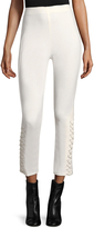 Derek Lam 10 Crosby Women's Lace Cotton Leggings