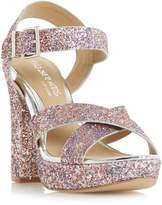 Head Over Heels Miya Cross Over Platform Sandals