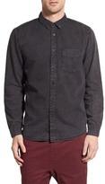 Globe Goodstock Vintage Long Sleeve Trim Fit Shirt