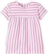 Zutano Breton Stripe Peasant Top (Baby) - Hot Pink - 12 Months