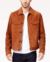 Michael Kors Men's Suede Trucker Jacket