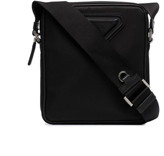 Prada Triangle-Logo Messenger Bag