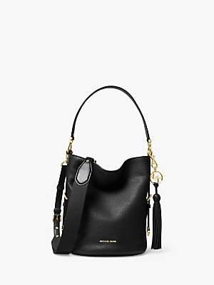 Michael Kors MICHAEL Brooke Medium Leather Bucket Bag