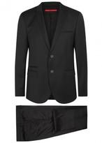 Hugo Artiheilon Black Virgin Wool Suit