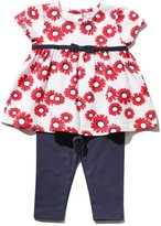 M&Co Daisy smock top and leggings set