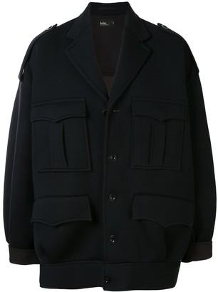 Kolor Oversized Multi-Pocket Jacket