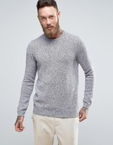Asos Midweight Cotton Crew Neck Sweater