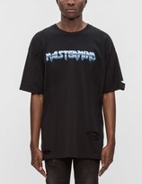 Mastermind Japan Distressed Mastermind Graphic S/S T-Shirt (Ver. 4)