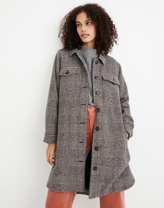 Madewell Plaid Crossbay Jacket