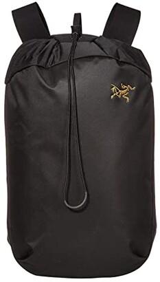 Arc'teryx Arro 20 Bucket Bag (Black) Backpack Bags