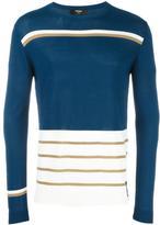 Fendi striped jumper - men - Cotton/Viscose - 50