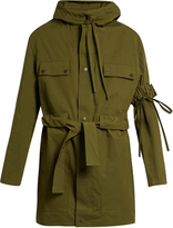 Craig Green Tie-waist hooded anorak jacket