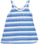 Erge Matrix Stripe Tank (Kid) - White/Pink-Small