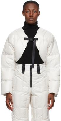 Issey Miyake White Down Short Transform Jacket