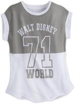Disney Walt World Collegiate Sleeveless Tee for Women