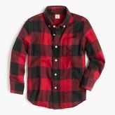 J.Crew Kids' flannel shirt in buffalo plaid