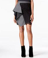 Rachel Roy Lace Ruffled Skirt