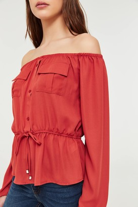 Ardene Cargo Off Shoulder Blouse