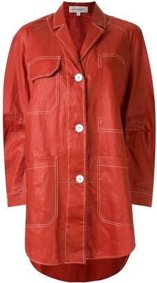Lee Mathews Phoebe relaxed jacket