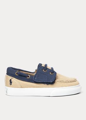 Ralph Lauren Bridgeport Cotton Boat Shoe