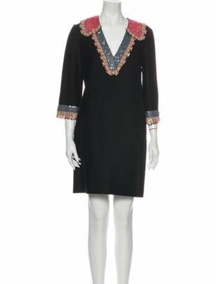 Gucci 2016 Mini Dress Black
