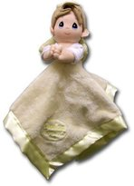 Luv N Care Precious Moments Praying Boy Baby Security Blanket - Yellow by Luv n' Care