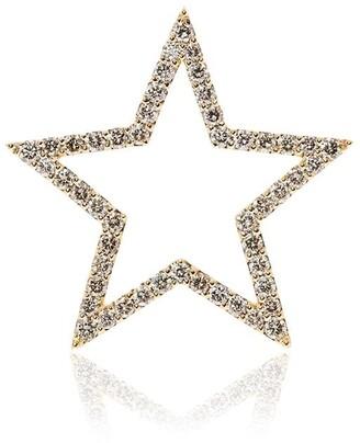 Rosa de la Cruz 18k Yellow Gold Diamond Star Pendant