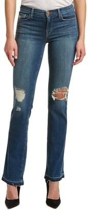 J Brand Jeans Women's Bryan Mid Rise Boot Cut Jean