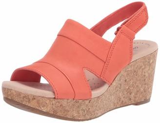 Clarks womens Annadel Ivory Wedge Sandal