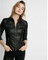 Express zip chest pocket (Minus the) leather jacket
