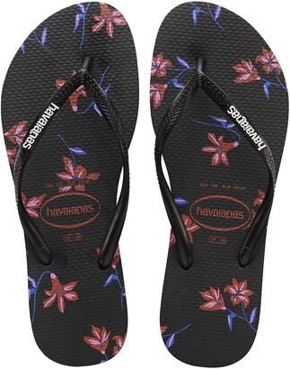 Havaianas Women's Slim Floral Flip Flop Sandal