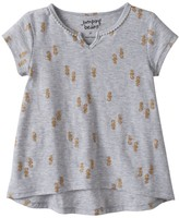 Jumping Beans Toddler Girl Jumping Beans® Short Sleeve High-Low Tee