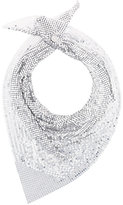 Paco Rabanne embellished scarf - women - Metallized Polyamide - One Size