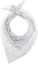 Paco Rabanne embellished scarf - women - Metallized Polyamide - One Size